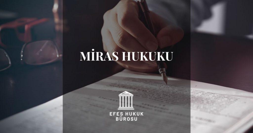 İzmir Miras Avukatı